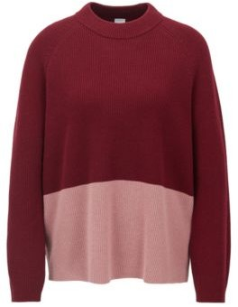 HUGO BOSS Relaxed fit sweater with colour-block detail
