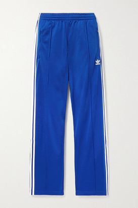 adidas Firebird Striped Tech-jersey Track Pants - Royal blue