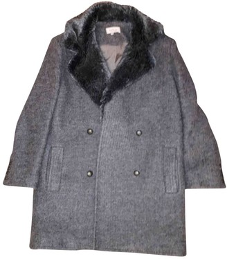 Paul & Joe Grey Wool Coat for Women