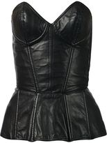 Fleur Du Mal leather bustier - women - Leather - S