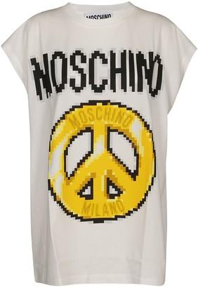 Moschino Logo Print Tank Top