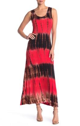 WEST KEI Racerback Tie Dye Maxi Dress