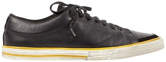 Balenciaga \N Black Leather Trainers