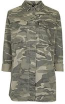 Topshop Maternity camouflage sampson shacket