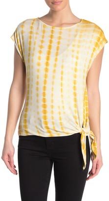 Como Vintage Tie Dye Cap Sleeve T-Shirt