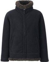 Uniqlo Boys Blocktech Fleece Full-Zip Long Sleeve Jacket