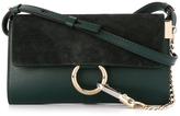 Chloé Mini Faye Wallet Bag - Green