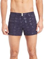 Vilebrequin Turtle Shell Print Swim Trunks