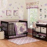 The Peanut Shell Dahlia 4-Piece Crib Bedding Set
