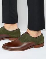 Aldo Kireviel Leather Suede Oxford Shoes