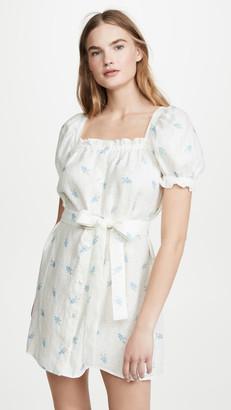 BRIGITTE Sleeper Linen Mini Dress