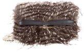 Karen Millen 2015 Fur Rockefeller Bag
