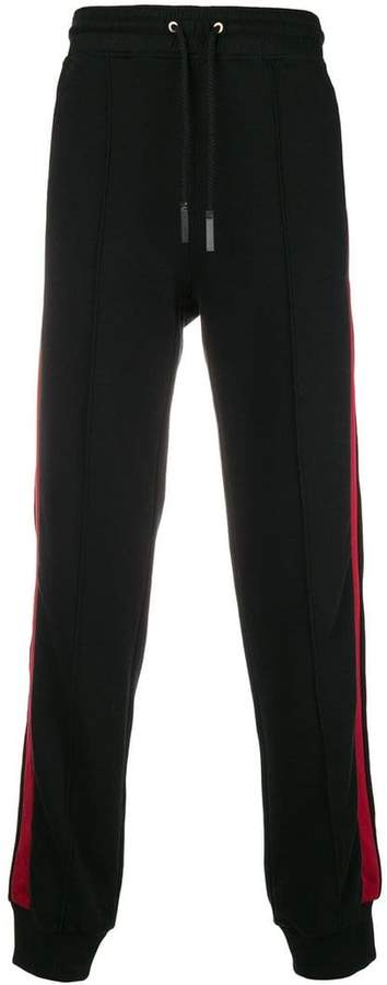 Givenchy side-stripe drawstring trousers