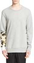 Drifter Men's 'Bradley' Embroidered Sleeve Sweatshirt