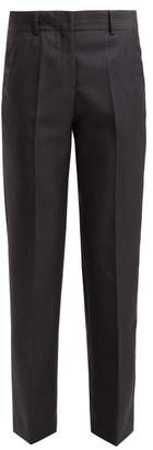 Masscob Cleo Prince Of Wales-checked Wool-blend Trousers - Womens - Grey