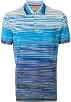 Missoni gradient striped polo shirt