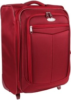 Samsonite Silhouette 12 Softside Upright Expandable 21 Case (Dark Red) - Bags and Luggage