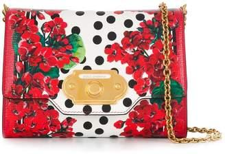 Dolce & Gabbana floral print crossbody bag