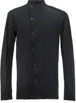 Masnada dislocated fastening slim-fit shirt - men - Cotton - 46