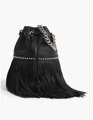 J&M Davidson The Mini Fringe Carnival leather cross-body bag
