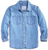 Rails Girls' Mini Hearts Chambray Shirt