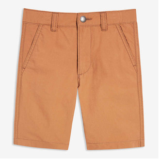 Joe Fresh Toddler Boys' Cotton Shorts, Camel (Size 3)