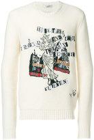 Valentino intarsia jumper - men - Polyamide/Polyester/Cashmere/Virgin Wool - S