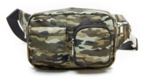 Like Dreams Boxy Camouflage Utility Fannypack
