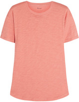 Madewell Whisper Cotton-jersey T-shirt - Antique rose