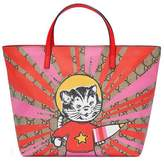 Gucci Children's GG rocket cat tote