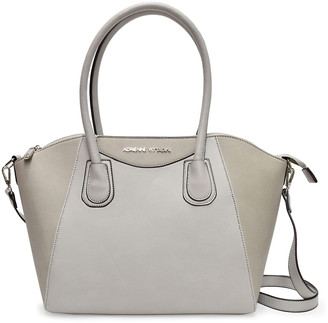 Adrienne Vittadini Women's Satchels grey - Gray Ava Large Winged Tote