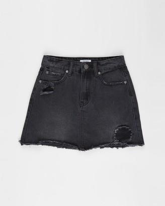 Cotton On Florence Denim Skirt - Teens