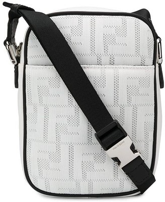 Fendi FF motif messenger bag
