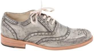 Florsheim X Esquivel Grey Leather Lace ups