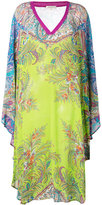 Etro floral kaftan - women - Viscose/Cotton - S
