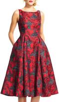 Adrianna Papell Floral Tea Dress