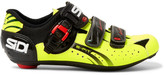 SIDI Genius 5 Fit Tech Pro And Mesh Cycling Shoes - Yellow