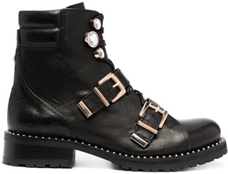 Sophia Webster Ziggy biker ankle boots