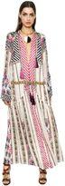 Etro Saffron Print Silk Crepe De Chine Dress