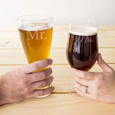 Cathy's Concepts CATHYS CONCEPTS Mr. & Mrs. Set of 2 Pilsner Glasses