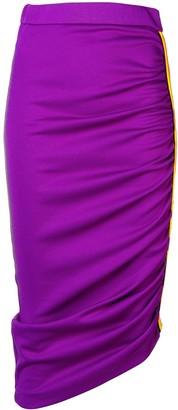 Pinko Asymmetrical Pencil Skirt
