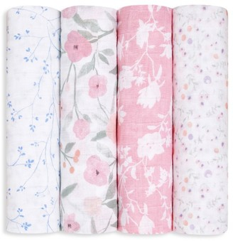 Aden Anais Baby's 4-Pack Large Swaddle Muslin Blanket