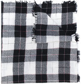 Etoile Isabel Marant Loria plaid scarf - women - Silk/Wool - One Size