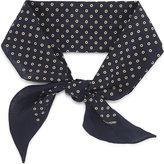 Tom Ford Mini circle linen scarf
