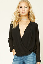 Forever 21 FOREVER 21+ Contemporary Surplice Top
