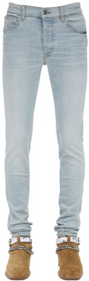 Amiri 15cm Tapered Stack Cotton Denim Jeans
