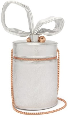 Sophia Webster Bonnie Metallic-leather Cylinder Bag - Womens - Silver