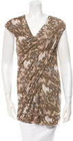 Yigal Azrouel Sleeveless Printed Top