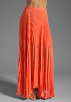 Shannon Pleated Maxi Skirt