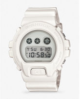 Express g-shock oversized white watch